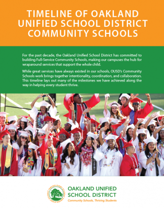 Brochure Design for a School District