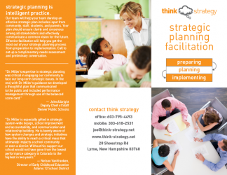 Trifold Brochure for Consultancy