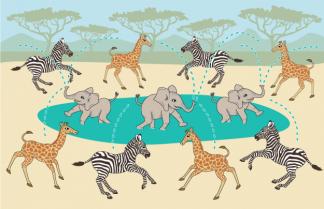 Illustration for Children's Play Mat